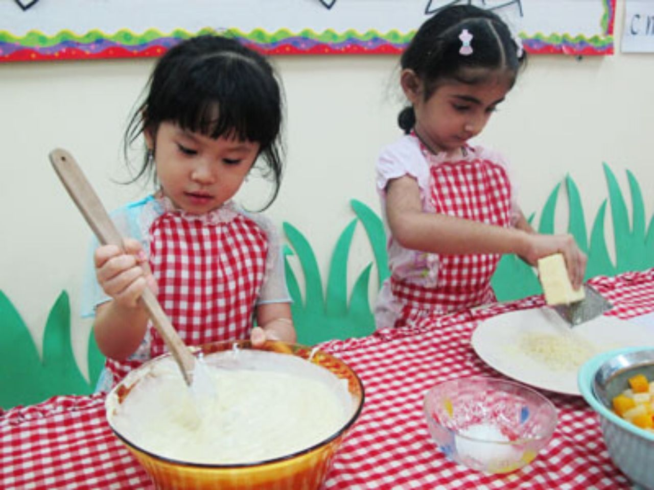 Lollypop Students Baking Time
