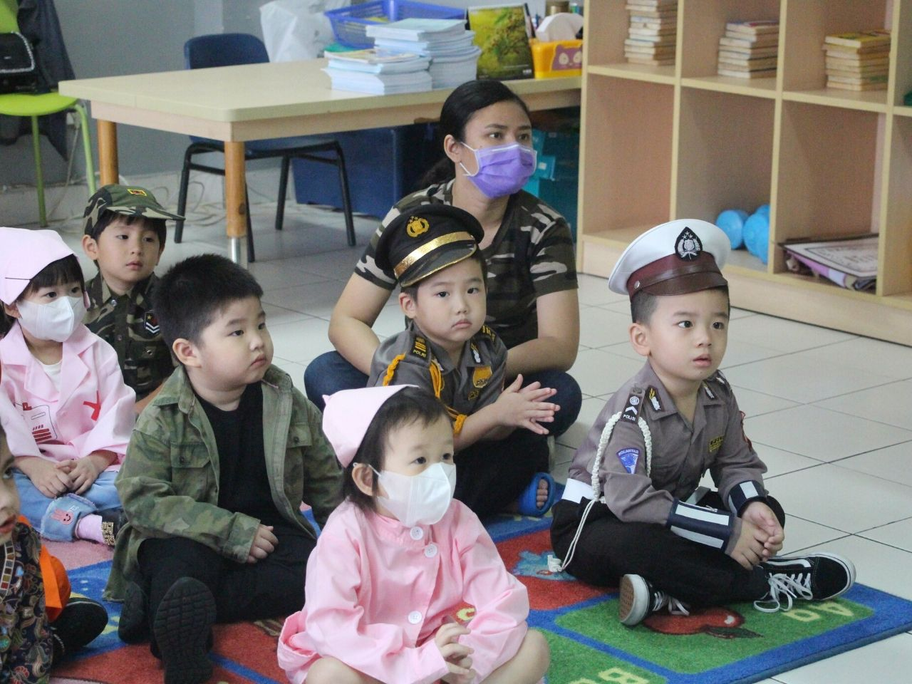 Lollypop Students A Day with the Policeman
